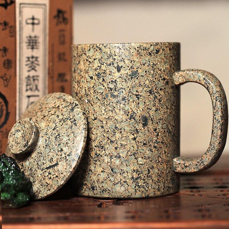 China s Inner Mongolia Natural Maifan Stone Tea Cup Personalized Stone Mug Tea Cup Creative 400ML