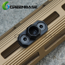 Greenbase KEYMOD & M-LOK Compatible Sling Mount Standard QD Sling Swivel Adapter Attach to MLOK Key mod Handguard System