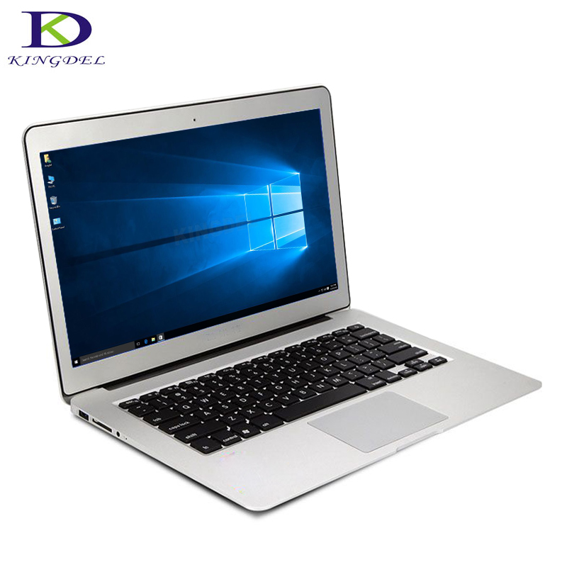 In Stock! Kingdel Newest 13.3 Inch Full Metal CaseLaptop Ultrabook Computer Core i7 5500U Dual CoreWebcam Backlight Keyboard