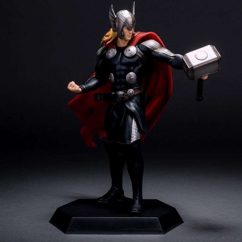 Marvel The Avenger Super Hero Thor Crazy Toys 7 Figure Toys 17cm свитшот print bar the first avenger