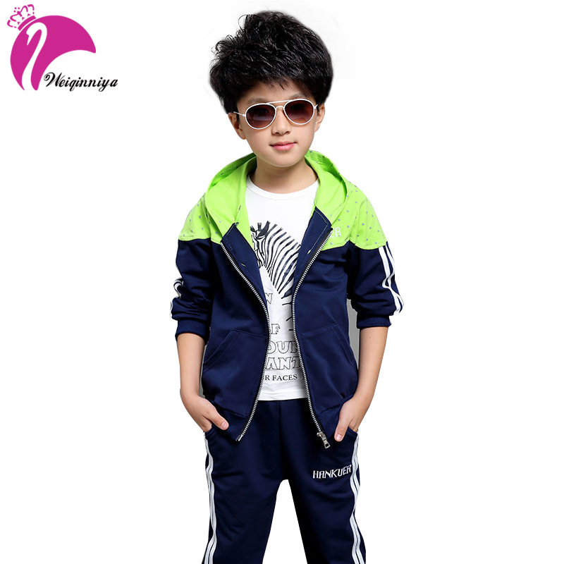 Kids Set Children Boy Sets Autumn Casual Sport Jackets Hoodies+Pants 2 Pieces Suit Active Zipper Outwear Tracksuits For Boys Hot new spring autumn kids clothes sets children casual 3 pcs suit jackets pants t shirt baby set boys sport outwear 4 12 years