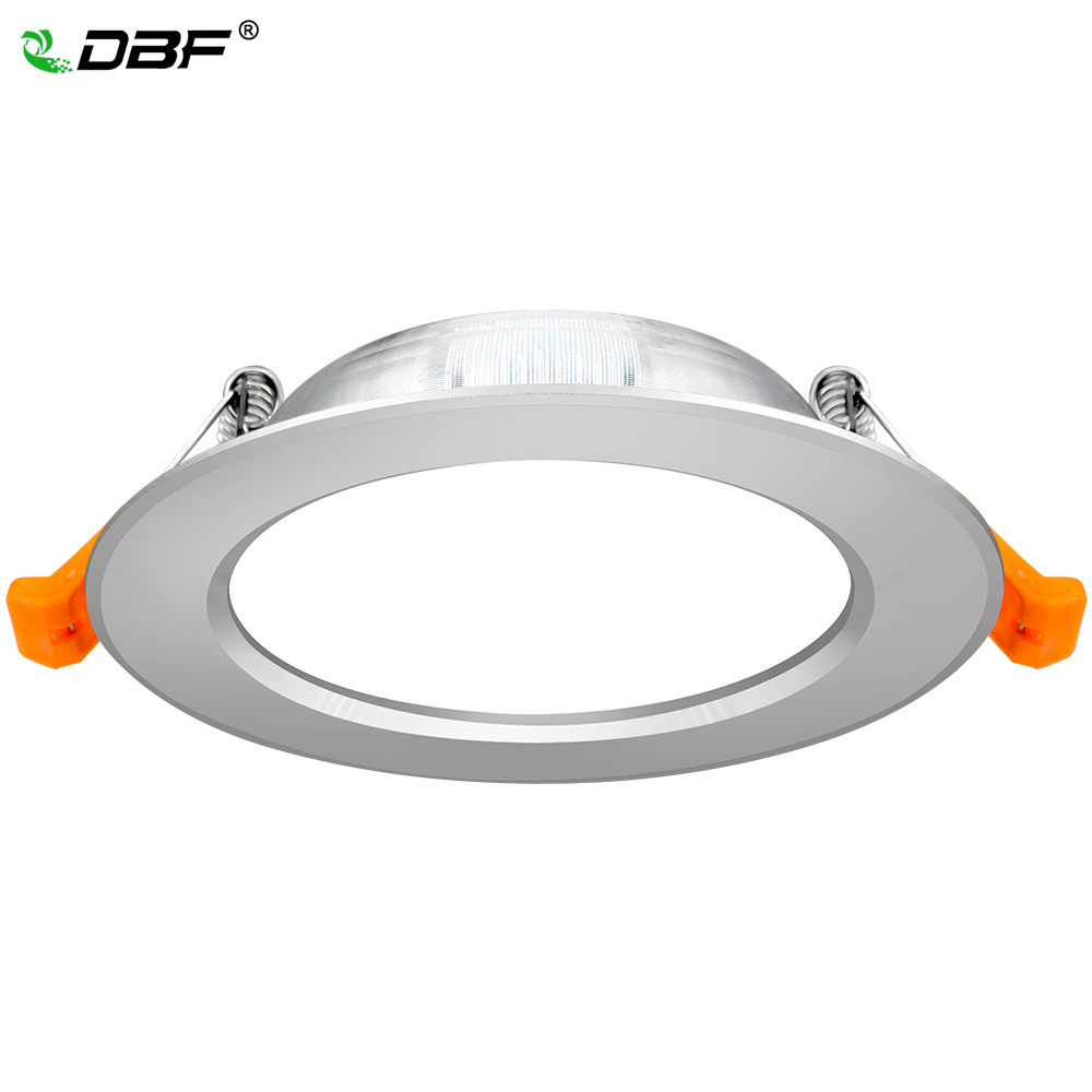 [DBF]Driverless LED Recessed Downlight Not Dimmable 3W 5W 7W 9W 12W SMD 2835 Ceiling Spot Lamp Bedroom Kitchen Indoor Lighting (China)