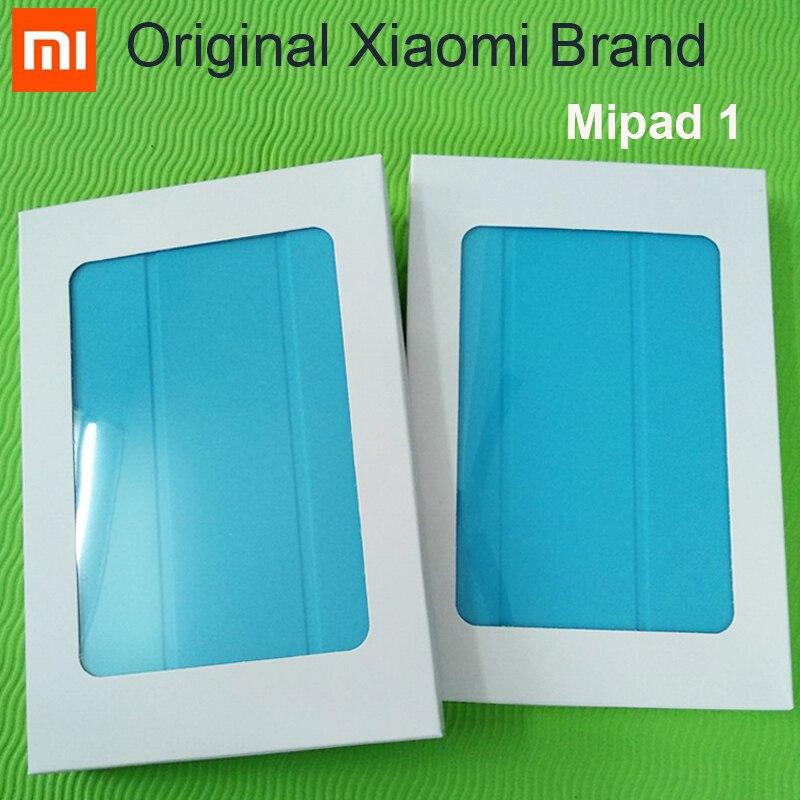 Оригинальный чехол Xiaomi Mipad 1, Ультратонкий чехол из искусственной кожи для Xiaomi Mi Pad 1-го поколения, 7,9 дюйма, чехол с автоматическим переходом в...