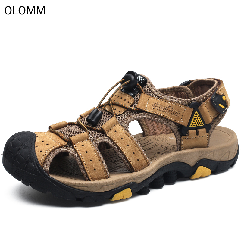 Sandals Big-Size Summer-Shoes Classic Comfortable Soft Roman New Men