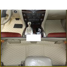 lsrtw2017 leather car interior floor mat for nissan patrol y62 2011 2012 2013 2014 2015 2016 2017 2018 2019 2020 accessories 2013 2017 non slip console tray central armest tray refrigerator for nissan patrol y62 armada accessories