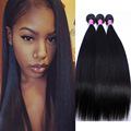9A Peruvian Virgin Human Straight Hair 3 Bundles Remy Queen Straight Hair Weaving Unprocessed Peruvian Straight Extensions