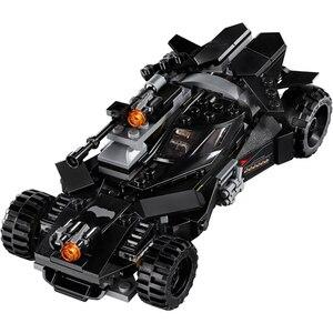 Image 5 - 991 pièces briques Batmobile voiture Batman Super héros modèle blocs de construction garçons cadeaux danniversaire enfants éducatifs assemblée jouets