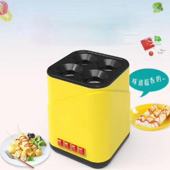 Electric Egg Boiler Automatic Egg Roll Maker Egg Omelette Master Sausage Machine Breakfast Egg DIY Tools 220v automatic electric household egg roller machine egg sausage machine egg roll breakfast machine ham egg sausage maker