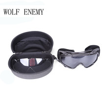Tático Paintball Airsoft Óculos Anti Nevoeiro Ballistic Óculos para Helmet  (Terra preta) TB424( 5554a18b1f