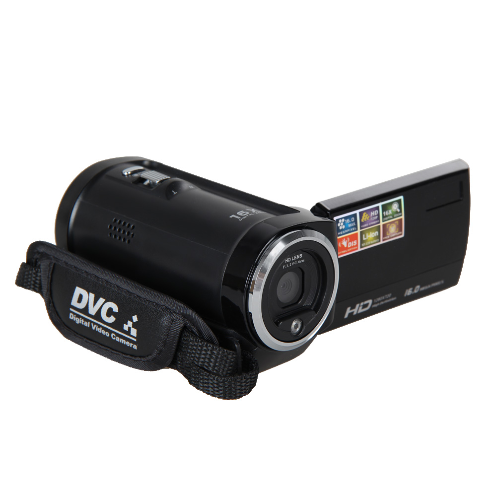 Full hd 720p 16mp automatic digital camera video camcorder for Camera camera