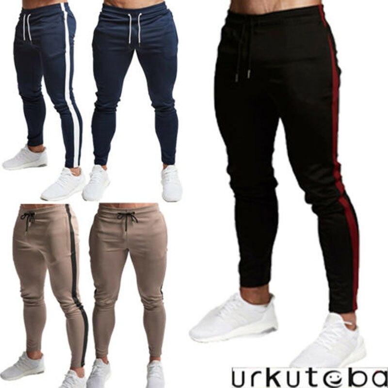 2019 New Brand Fashion Men's Jogger Pants Fashion Sports Gym Workout Hip Hop Track Trousers Long Slacks