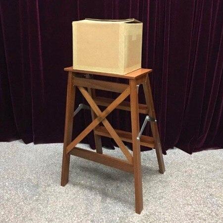 Tours de magie lourde boîte en carton télécommande professionnel magicien scène Illusion vide boîte en carton