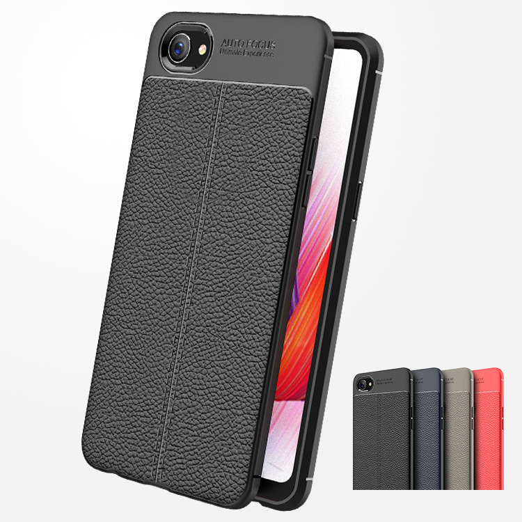 A3 Carbon Fiber TPU Silicone Leather Case For Oppo A3 Cases Soft Full Back Cover For Oppo A3 A 3 Fundas Capa