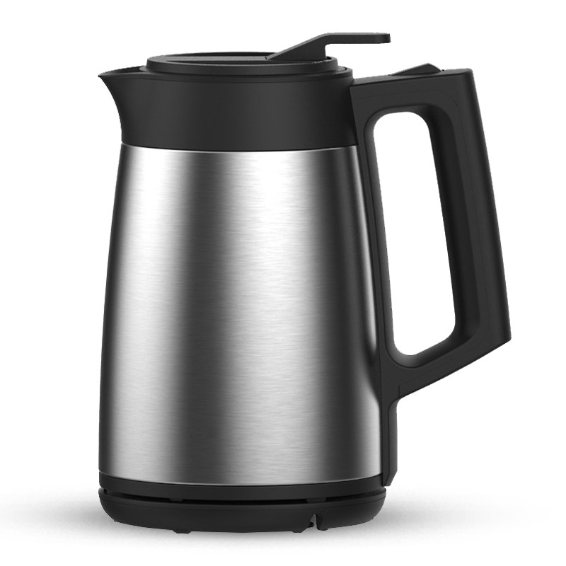 лучшая цена Electric kettle/vacuum insulated electric kettle 304 stainless steel heating boiler three layers of fire prevention 1.7L