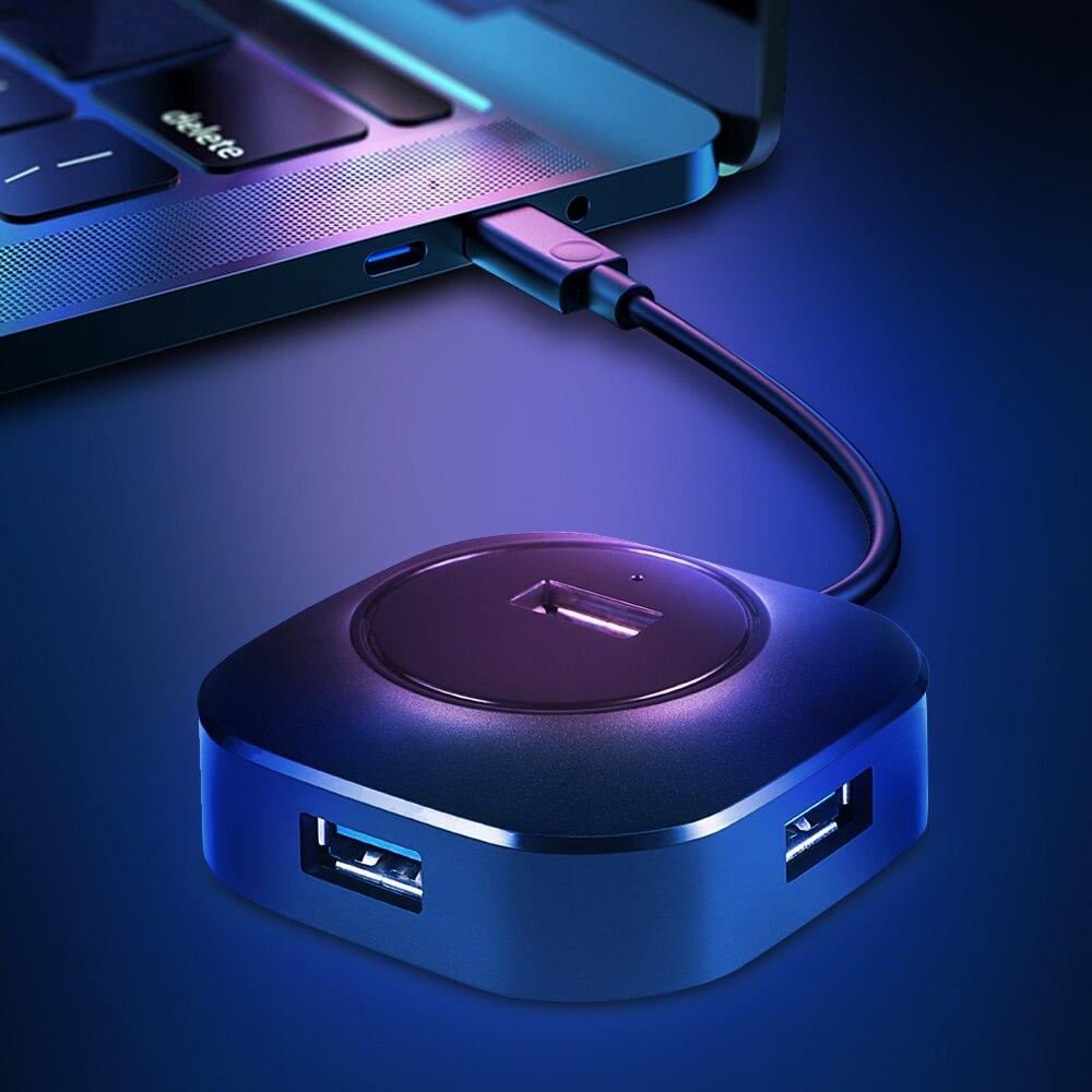 IMice USB HUB 3.0 Multi USB 3.0 HUB Splitter 3.0/2.0 4 Ports Cable 25cm / 100cm Micro Multiple USB Port Expander For PC Computer