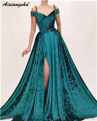 ouro renda veludo preto feminino formal vestidos de noite