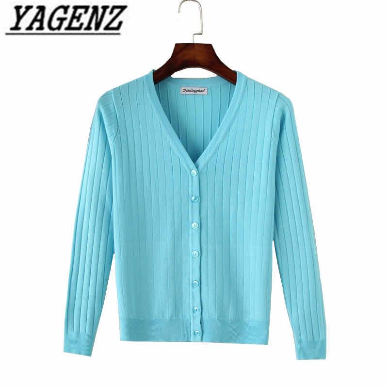 봄 가을 새로운 니트 여성 스웨터 코트 한국 슬림 캔디 색상 v 목 얇은 카디건 플러스 크기 4xl 캐주얼 레이디 니트 탑스