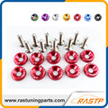 RASTP - 10 Pcs/Pack JDM Style Aluminum Fender Washers and Bolt for Honda Civic Integra RSX EK EG DC LS-QRF002