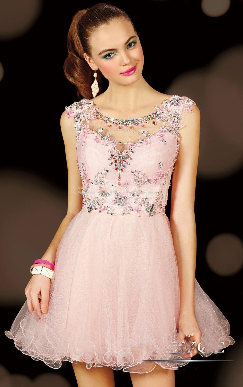 vestidos de fiesta cortos lindos