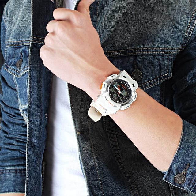 2017 Brand EPOZZ Fashion Luxury G Style Military Men's Sports Digital Watch Male Analog Wristwatch Diver 10Bar Relogio Masculino