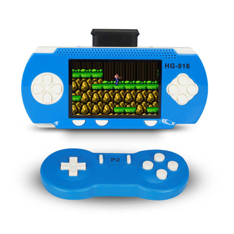 Game Consoles For Kids >> Detail Feedback Questions About Consola Portatil Two Players Video