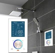 Digital shower control system shower mixer intelligent shower control system for bathroom