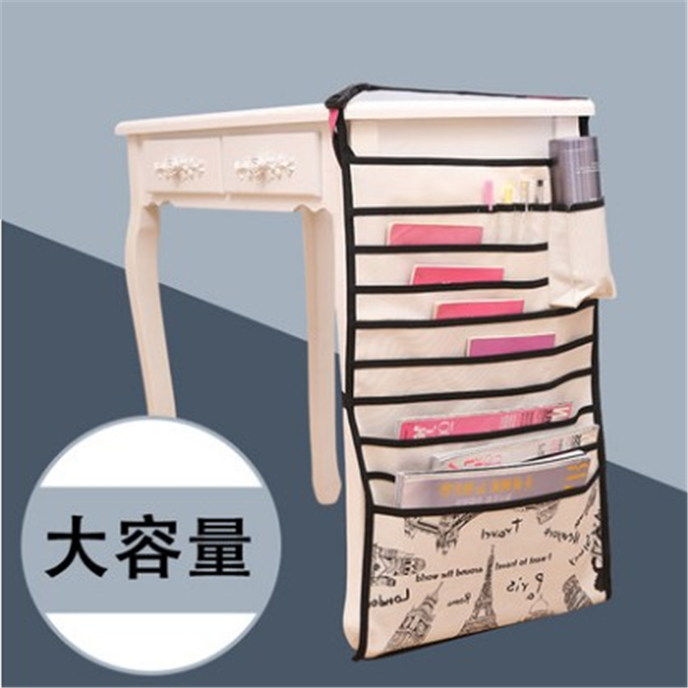 High Quality School Desk Hang Book Bag Magazine Organizers School Desktop Book Organizing Tools asus m4a78 vm desktop motherboard 780g socket am2 ddr2 sata2 usb2 0 uatx second hand high quality