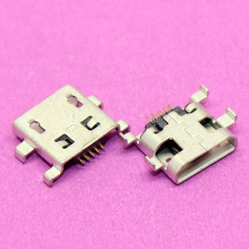 YuXi mikro usb konektörü Için Alcatel One Touch POP 7 P310A/Acer ICONIA A1-830 A1-810 şarj portu.