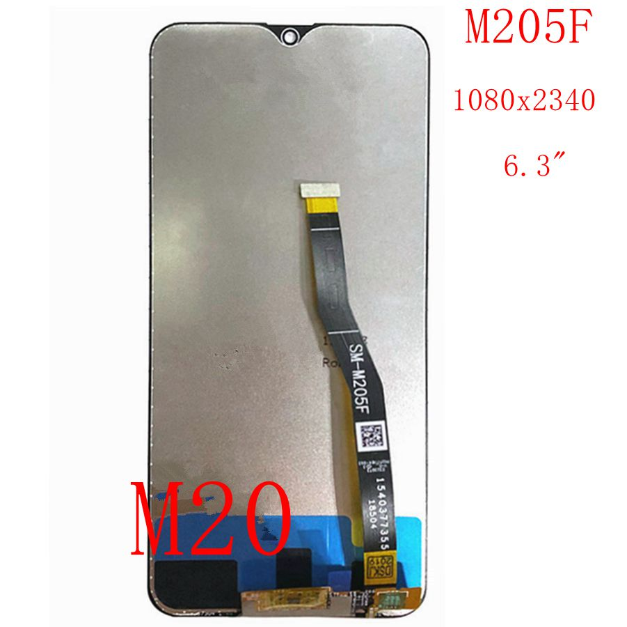 6.3 2019 For Samsung Galaxy M20 SM-M205 M205F/DS M205G LCD Display Touch Screen Digitizer Full6.3 2019 For Samsung Galaxy M20 SM-M205 M205F/DS M205G LCD Display Touch Screen Digitizer Full