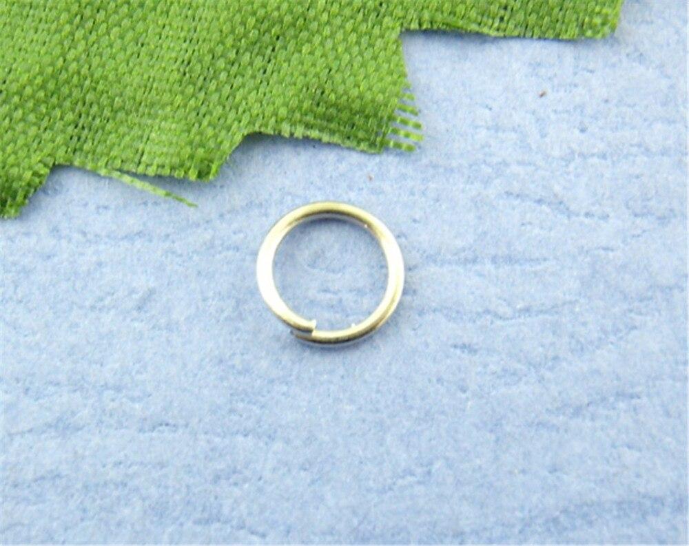 Doreen Box Lovely 1200PCs Silver Tone Open Jump Ring 5mm dia. (B00172)Doreen Box Lovely 1200PCs Silver Tone Open Jump Ring 5mm dia. (B00172)