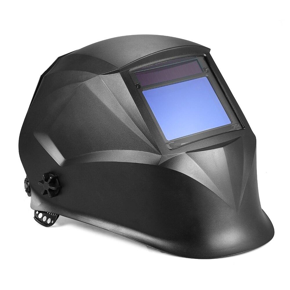 Солнечный Мощность самозатемняющимися стеклами шлем TIG MIG Маска электроники производства машин с 4 оптические сенсоры ...