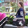 Hot Sale Free Shipping Fashion Baby Diaper Bags Nappy Bags Cute Zebra And Giraffe Pattern
