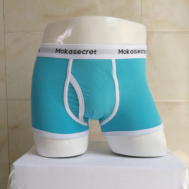 Unterwäsche Herren Marke Breathable Cotton Boxershorts Herren Trunks Bodysuit Männliche Boxer Höschen Calzoncillos Hombre Cueca Calvn Boxer