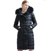 Avrupa Istasyonu Rakun Ağır Seta Kurşun Aşağı Ceketler Fabrika Kitap Kış Bile Şapka Kalınlaşma Gevşek Coat Suit-elbise EF3006