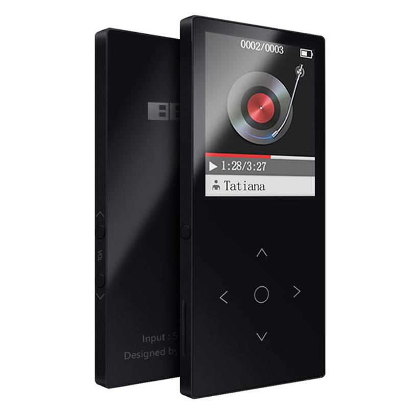 Hifi-player Benjie K8 Bluetooth Mp3 Musik Player Touch Taste Ultra Dünne 8 Gb Musik-player 1,8 Zoll Farbe Bildschirm Lossless Hifi Sound Mit Fm Angenehm Zu Schmecken