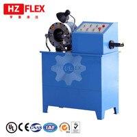 Elektrikli güçlü HZ-50D çok fonksiyonlu hidrolik boru dövme makinesi