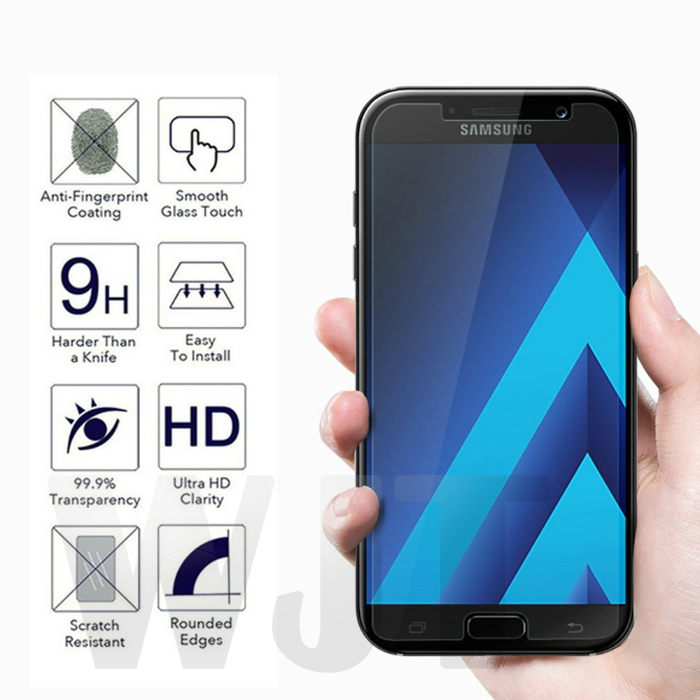 Tempered Glass For Samsung Galaxy J1 J2 J3 J4 J5 J6 J7 J8 A3 A5 A6 A7 A8 2015 2016 2017 2018 NEO CORE 9H Glass Screen Protector image