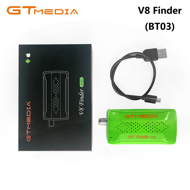 GTMEDIA V8 Finder BT03 Mini Satfinder Bluetooth DVB-S2 Satellite Finder Meter With Android System App Upgrade from Freesat BT01