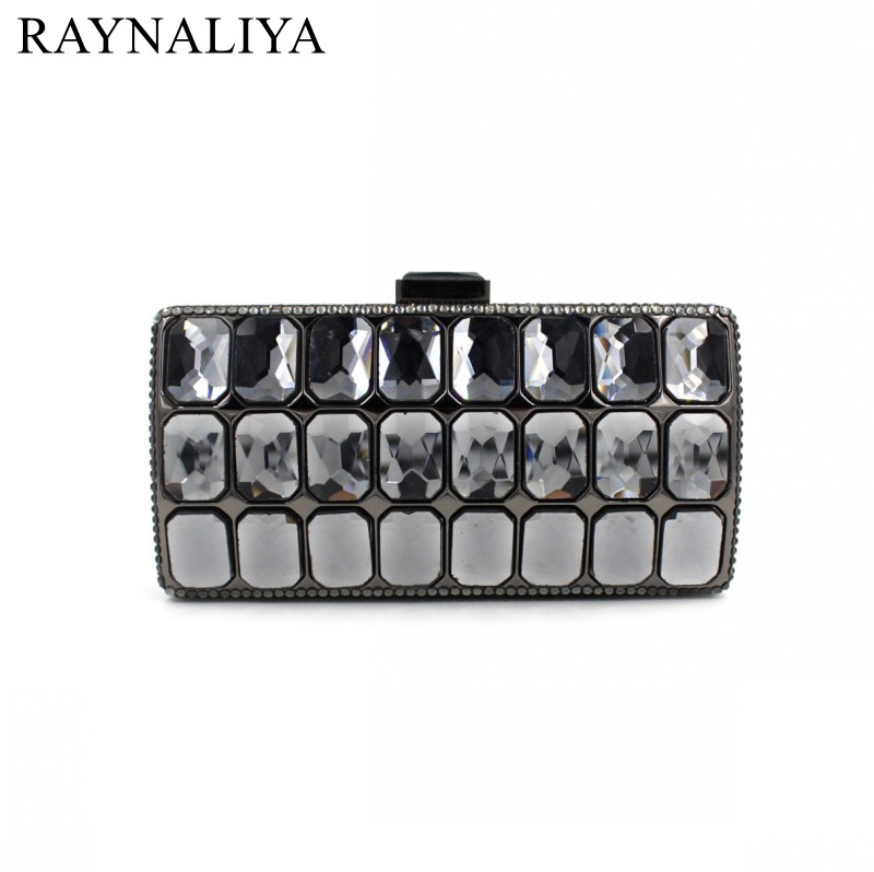 New Women Evening Bags Ladies Wedding Party Clutch Bag Crystal Fashion Geometric Minaudiere Purses Diamonds Bag Smyzh-f0136 new fashion women minaudiere fashion evening bags ladies wedding party floral clutch bag crystal diamonds purses smyzh e0122