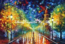 palette knife oil painting  modern oil painting canvas oil painting K384