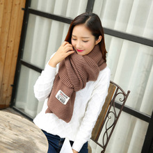 Fashion Women Winter Warm Blanket Knitted Plush Plaid Long Thick Scarf Thickening Shawl New