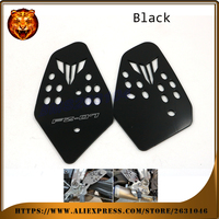 Motorcycle Accessories Foot Peg Heel Plates Guard Protector For YAMAHA FZ07 FZ 07 07 MT 07 MT FZ 2014 2015 2016 NEW STYLE Racing