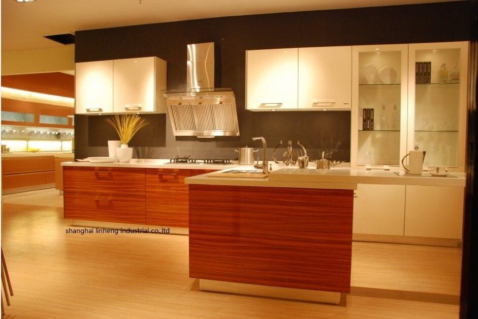 Акриловый кухонный шкаф (LH HA005)