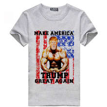 2016 USA Election T-shirt Rushed Knitted Good Quality Amarican Cotton Short Sleeve Donald Trump Vote Women Men Unisex T Shirt