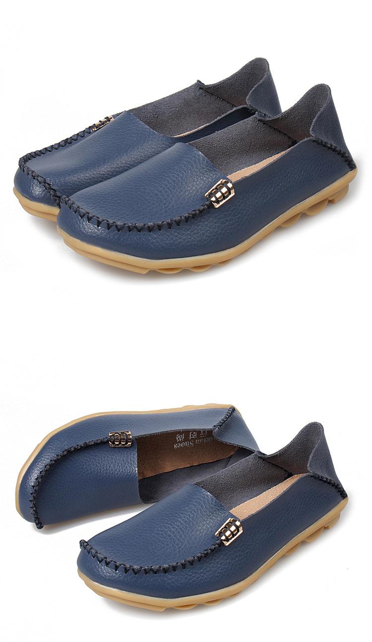 Yazarak Nieuwe Loafers Kleuren 22