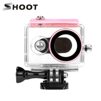 SHOOT 40M Diving Waterproof Camera Case For Xiaomi Yi 1st Xiaoyi Action Camera Waterproof Case Accessories