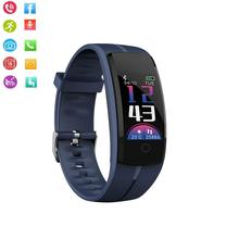 QS100 смарт-браслет Смарт-часы кровяное давление/монитор сердечного ритма фитнес-трекер Браслет Android IOS умный Браслет