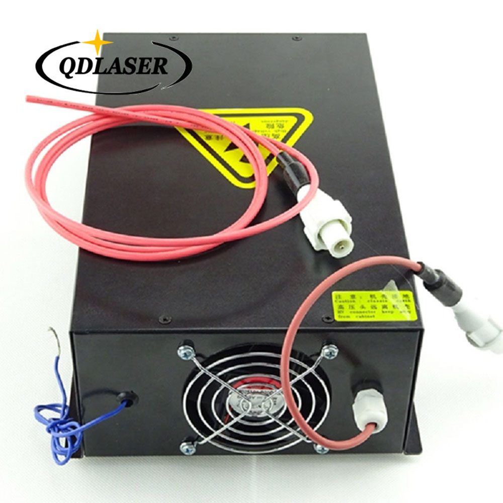 80W CO2 Laser Power Supply Source for CO2 Laser Engraving Cutting Machine HY-T80 co2 laser machine laser path size 1200 600mm 1200 800mm