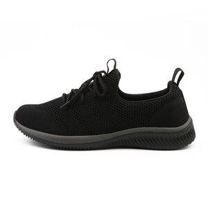 Image 3 - FEVRAL, nuevos zapatos informales de malla para hombres, zapatos con cordones para hombres, cómodos y ligeros, zapatillas de moda transpirables, zapatos de alta calidad para hombres