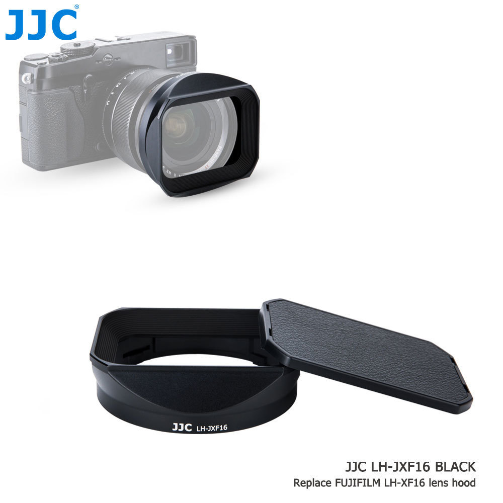 JJC Camera Lens Hood for FUJINON LENS XF 23mm F1.4 R/ XF 56mm F1.2 R/XF 56mm F1.2 R APD Replaces LH-XF23 for Fujifilm X-Pro1/XM1